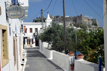 The capital of Kythera Chora