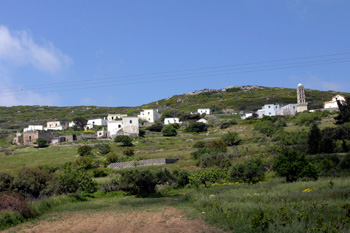 The village of Kythira Drymonas