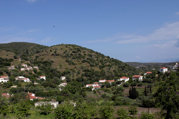 The traditional village of Karavas Kythira